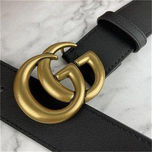 🌺NWT GG Gucci GSignature D Belt CM80 ~